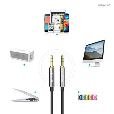 کابل انتقال صدای انکر مدل A7123 Premium به طول 120 سانتی متر
