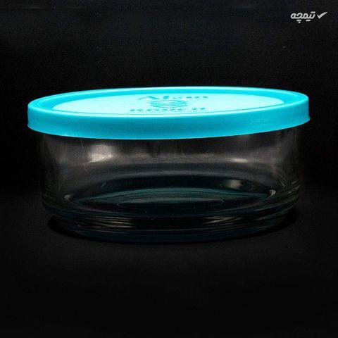 ظرف نگهدارنده شیشه ای بلور کاوه مدل 318 بسته 3 عددی
