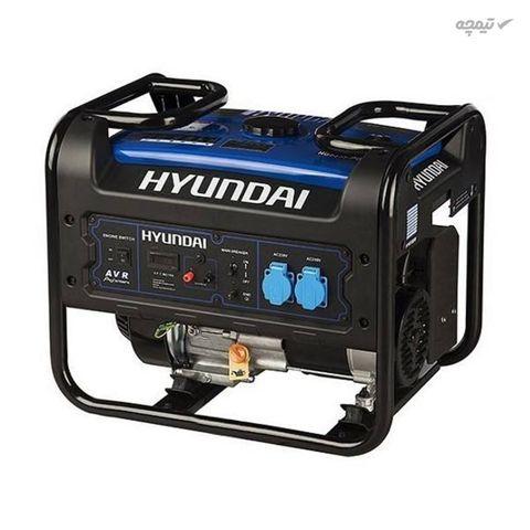 موتور برق بنزینی هیوندای مدل HGPG-5355 ولتاژ 230 ولت با 3 خروجی
