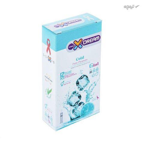 کاندوم ایکس دریم مدل Cold بسته 12 عددی