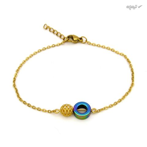 دستبند طلا 18 عیار زنانه مانچو کد bfg209