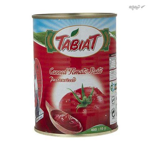 رب گوجه فرنگی طبیعت مقدار 400 گرم