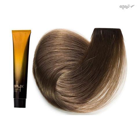 رنگ مو استایکس شماره 7.2 حجم 100 میلی لیتر رنگ بلوند مرواریدی متوسط