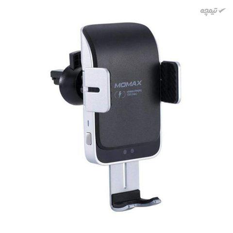 پایه نگهدارنده و هولدر گوشی موبایل با قابلیت شارژ بی سیم مومکس مدل CM12