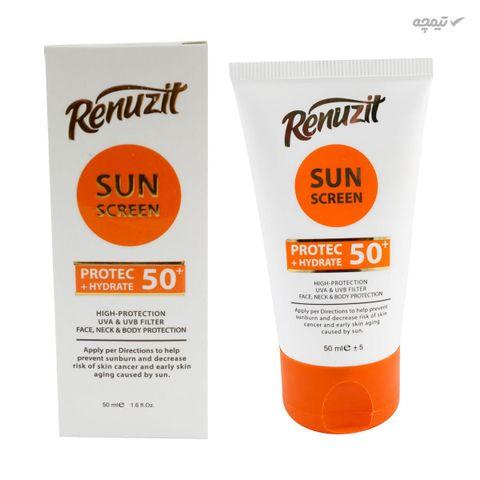کرم ضد آفتاب رینوزیت مدل BE حجم 50 میلی لیتر SPF 50