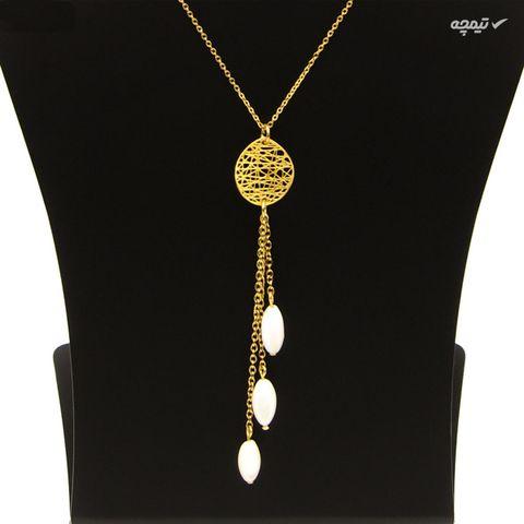 گردنبند طلا 18 عیار زنانه مانچو کد sfg650