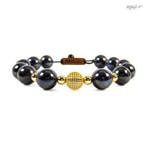 دستبند طلا 18 عیار زنانه مانچو مدل bfg553