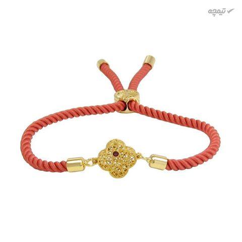 دستبند طلا 18 عیار زنانه مانچو کد BFG166