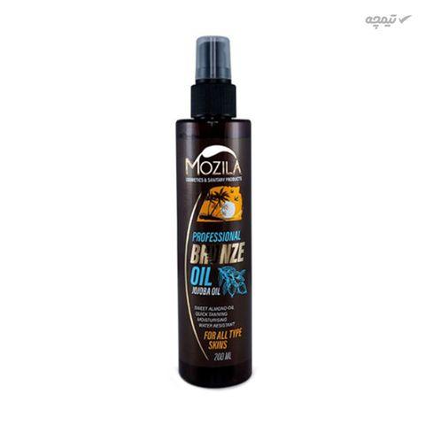روغن برنز کننده موزیلا مدل jojoba oil حجم 200 میلی لیتر