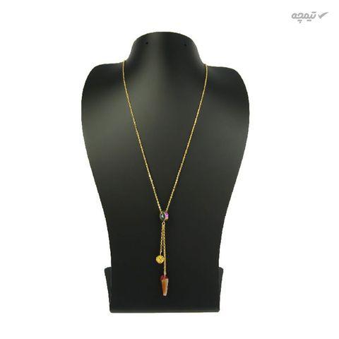 گردنبند طلا 18 عیار زنانه مانچو مدل sfg637