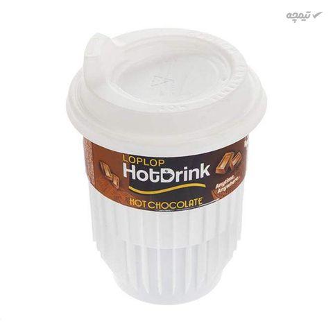 هات چاکلت لپ لپ مقدار 25 گرم