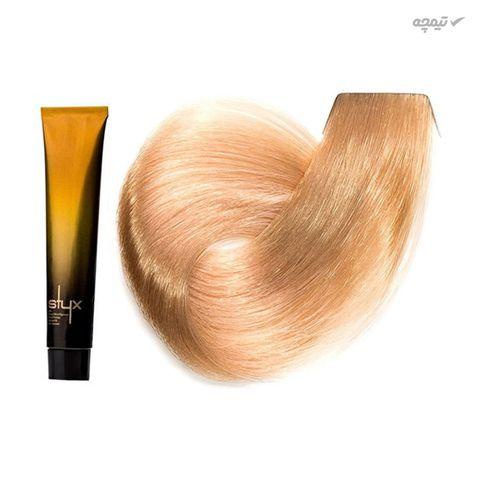 رنگ مو استایکس شماره 8T حجم 100 میلی لیتر رنگ بلوند تافی روشن