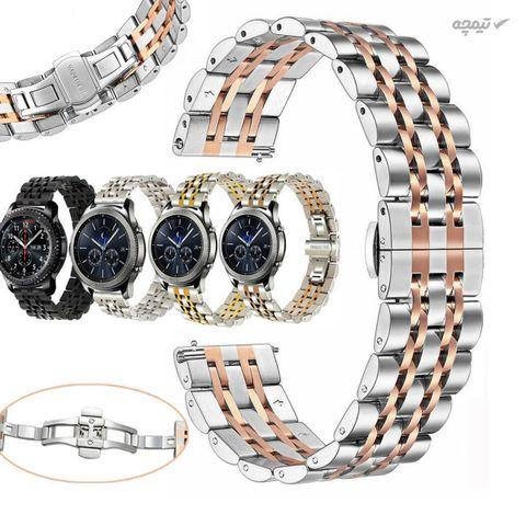 بند مدل Seven Bead-0800 مناسب برای ساعت هوشمند سامسونگ Galaxy Watch 46mm