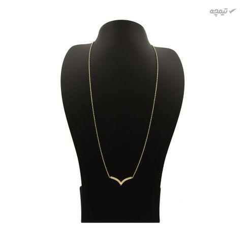 گردنبند طلا 18 عیار زنانه کاپانی کد KN014