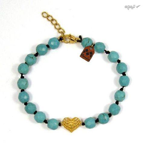 دستبند طلا 18 عیار زنانه مانچو کد bfg147
