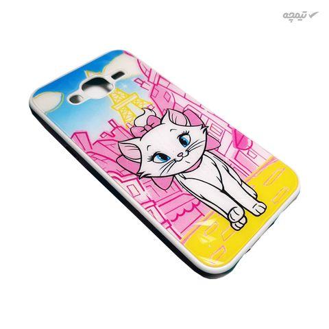 کاور گوشی موبایل طرح گربه کد COD213 مناسب برای گوشی موبایل سامسونگ Galaxy J5 2015