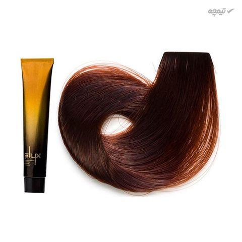 رنگ مو استایکس شماره 6.43 رنگ بلوند تیتانی تیره حجم 100 میلی لیتر