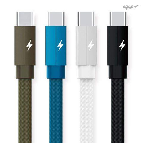 کابل تبدیل USB به USB-C ریمکس مدل Kerolla RC-094a طول 1 متر