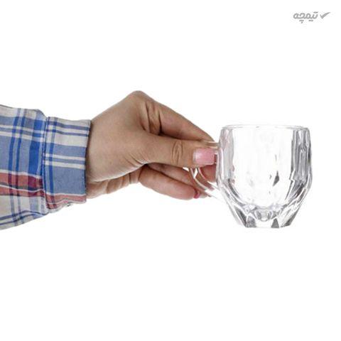 فنجان کریستالی مدل INDEX بسته 6 عددی