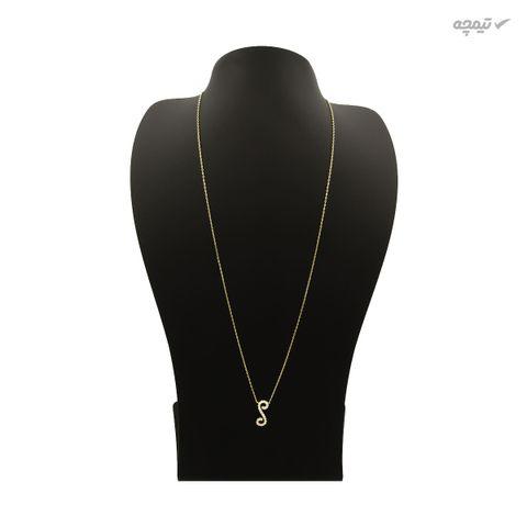 گردنبند طلا 18 عیار زنانه کاپانی کد KN012