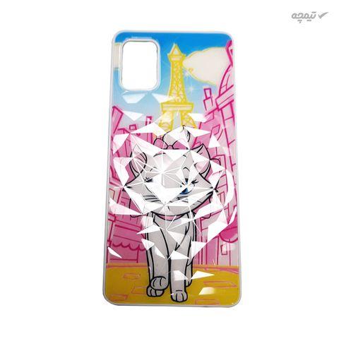 کاور گوشی موبایل طرح گربه کد COD212 مناسب برای گوشی موبایل سامسونگ Galaxy A51