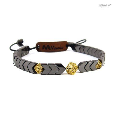 دستبند طلا 18 عیار زنانه مانچو کد bfg123