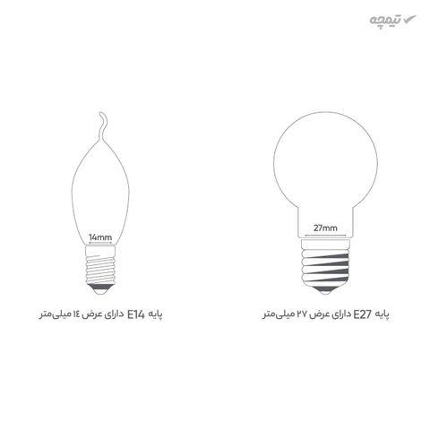 لامپ کم مصرف 80 وات زمرد پایه E27