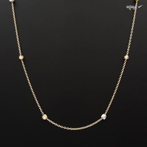 نیم ست طلا 18 عیار زنانه کاپانی کد KS003