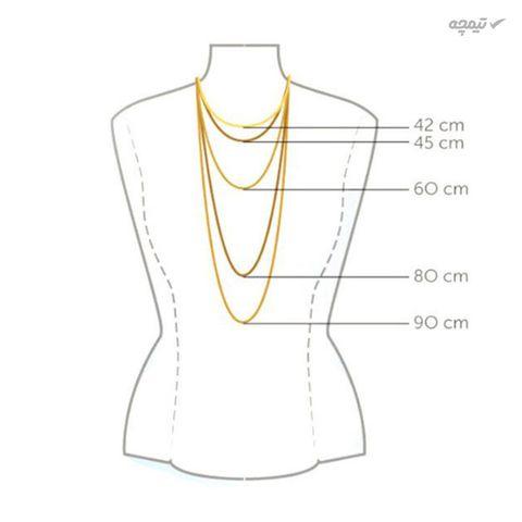 نیم ست طلا 18 عیار زنانه کاپانی کد KS002