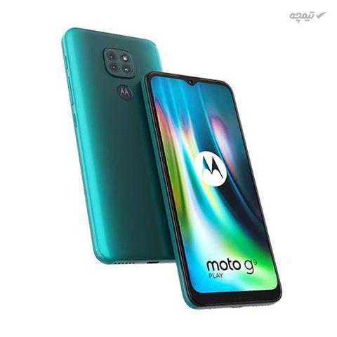 گوشی موبایل موتورولا مدل Moto G9 Play دو سیم کارت، ظرفیت 128 گیگابایت با رم 4 گیگابایت