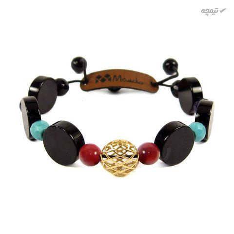 دستبند طلا 18عیار مانچو مدل bfg012