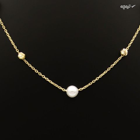 دستبند طلا 18 عیار زنانه کاپانی کد KB004
