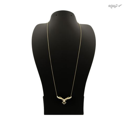 گردنبند طلا 18 عیار زنانه کاپانی کد KN003