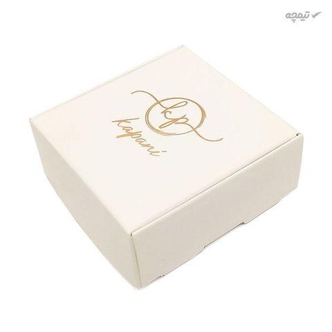 دستبند طلا 18 عیار زنانه کاپانی طرح قلب کد KB003