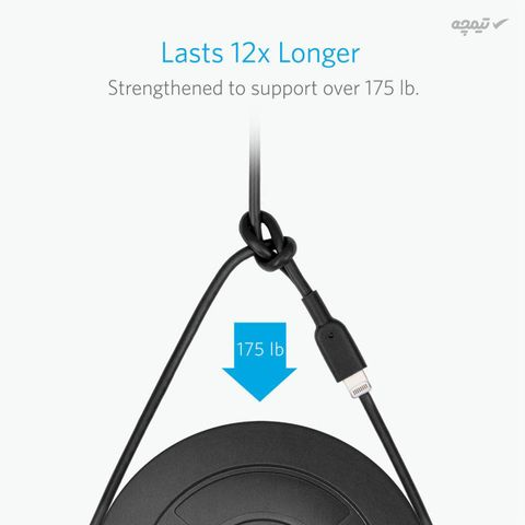 کابل تبدیل USB به لایتنینگ انکر مدل A8432 طول 0.9 متر