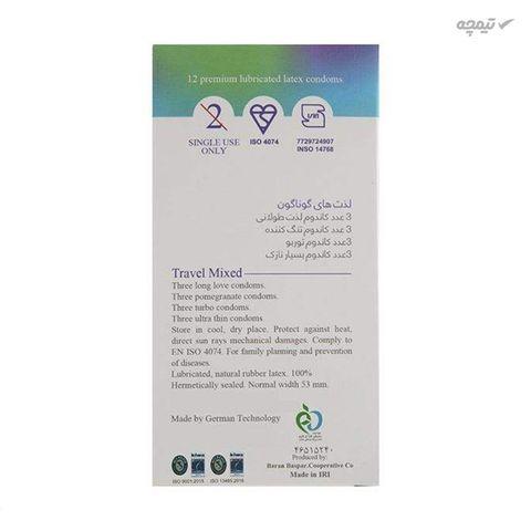کاندوم ایکس دریم مدل Travel Mixed بسته 12 عددی