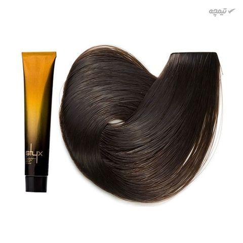 رنگ مو استایکس شماره 6 رنگ بلوند تیره حجم 100 میلی لیتر