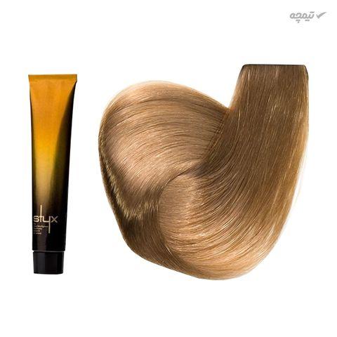 رنگ مو استایکس شماره 9.5 حجم 100 میلی لیتر رنگ آبنوس