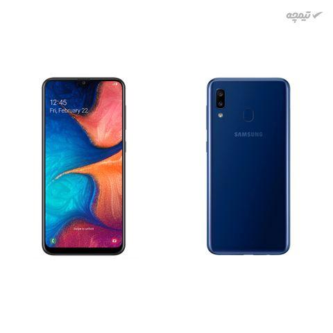 گوشی موبایل سامسونگ مدل Galaxy A20 SM-A205G/DS دو سیمکارت، ظرفیت 32 گیگابایت با رم 3 گیگابایت