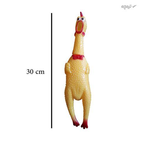 اسباب بازی سگ و گربه مدل مرغ نالان کد67