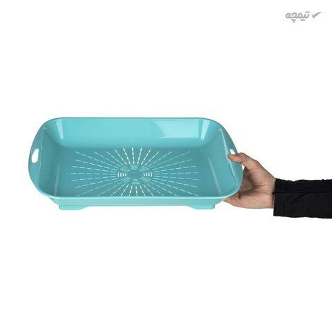 سینی آبکش زیباسازان مدل پارمیس