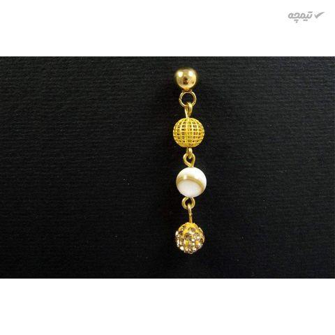گوشواره طلا 18 عیار زنانه مانچو مدل efg008