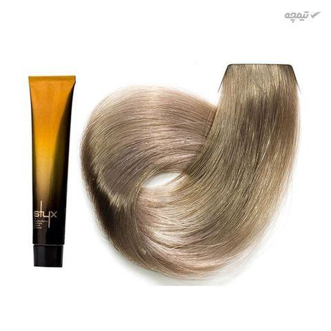 رنگ مو استایکس شماره 12.11 رنگ بلوند استخوانی فوق روشن حجم 100 میلی لیتر