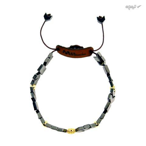 دستبند طلا 18 عیار مانچو مدل bfg049