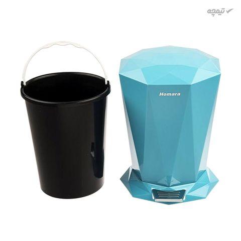 ست سطل زباله و فرچه دستشویی همارا مدل New