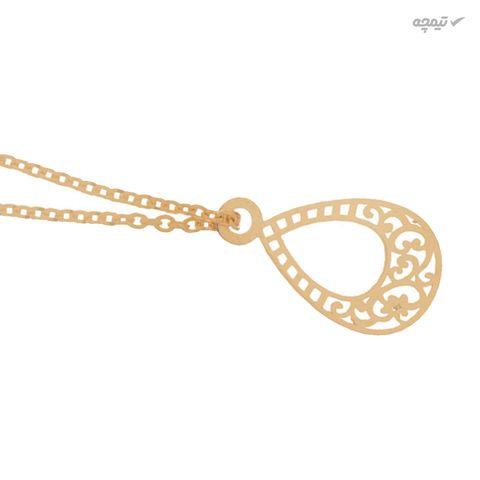 آویز ساعت طلا 18 عیار عدنان گالری مدل Dw2112