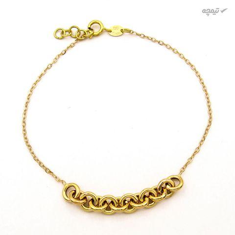 دستبند طلا 18 عیار زنانه کاپانی کد KB001