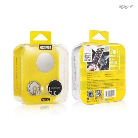 پایه نگهدارنده و هولدر گوشی موبایل جوی روم مدل ZS122 به همراه حلقه نگهدارنده