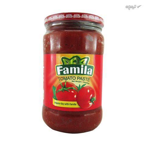 رب گوجه فرنگی فامیلا مقدار 700 گرم