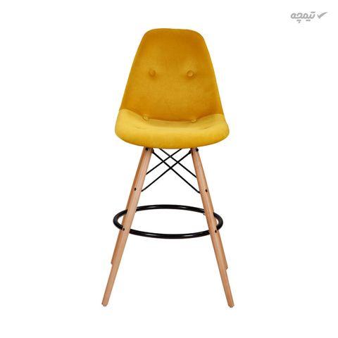 صندلی اپن پایه چوبی مدل datw51